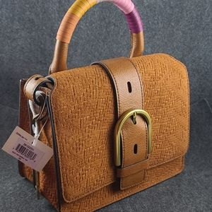 Fossil Wiley top handle-Tan